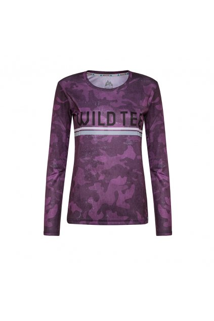 CAMO PURPLE LONGSLEEVE WOMEN