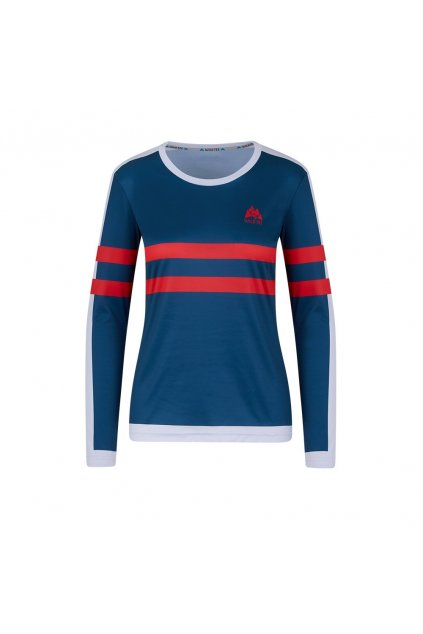 colorstripes red women longsleeve
