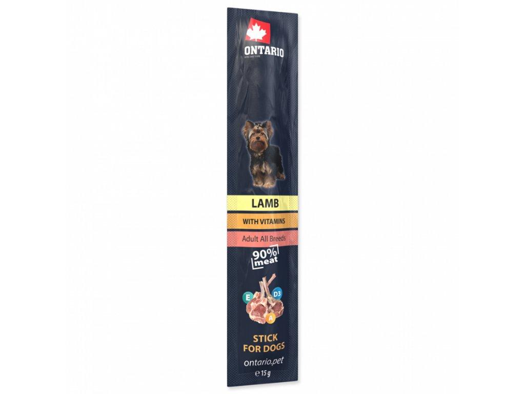 tycinka ontario stick for dogs lamb 15 g original