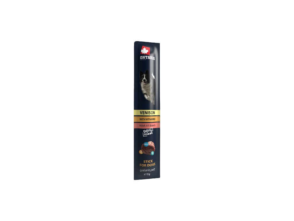tycinka ontario stick for dogs venison 15 g original removebg preview
