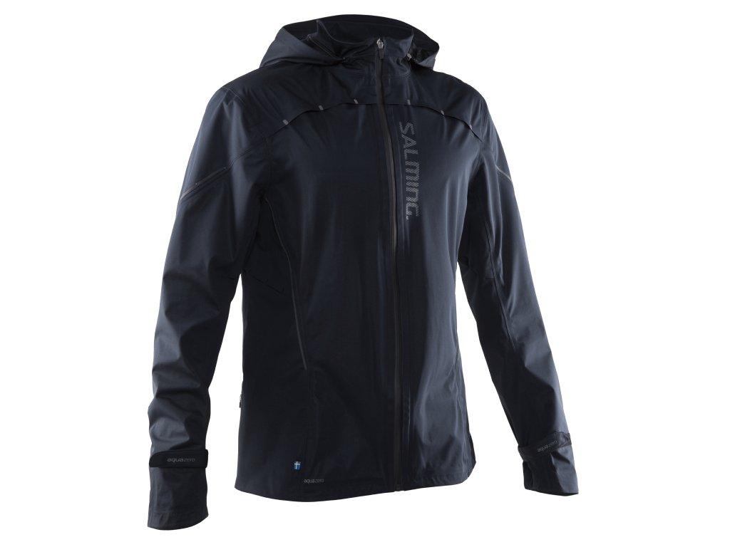 SALMING Run Abisko Rain Jacket Men Black