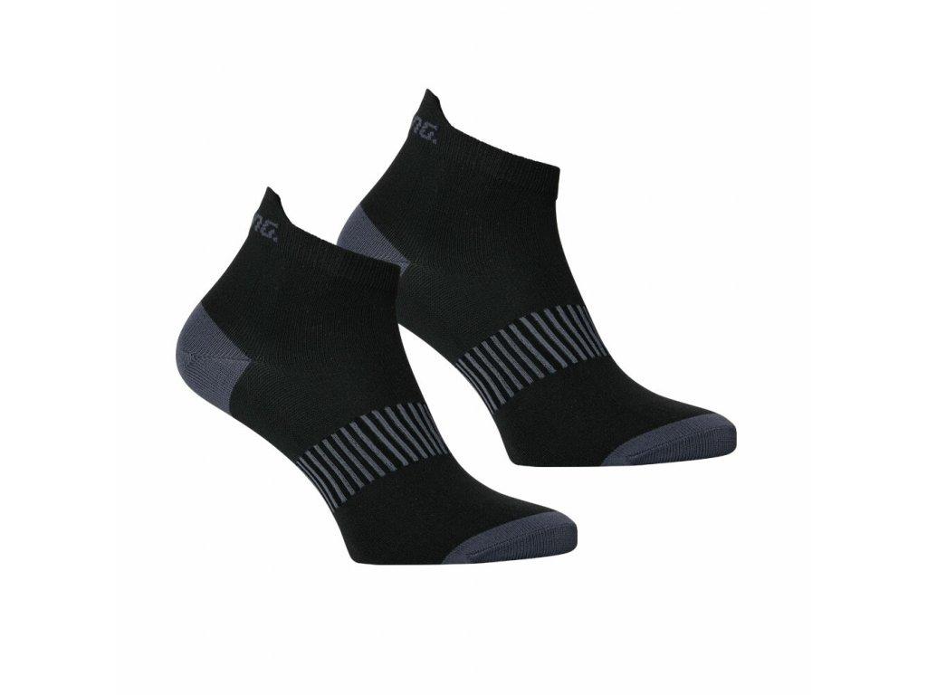 SALMING Performance Ankle Sock 2-pack Black