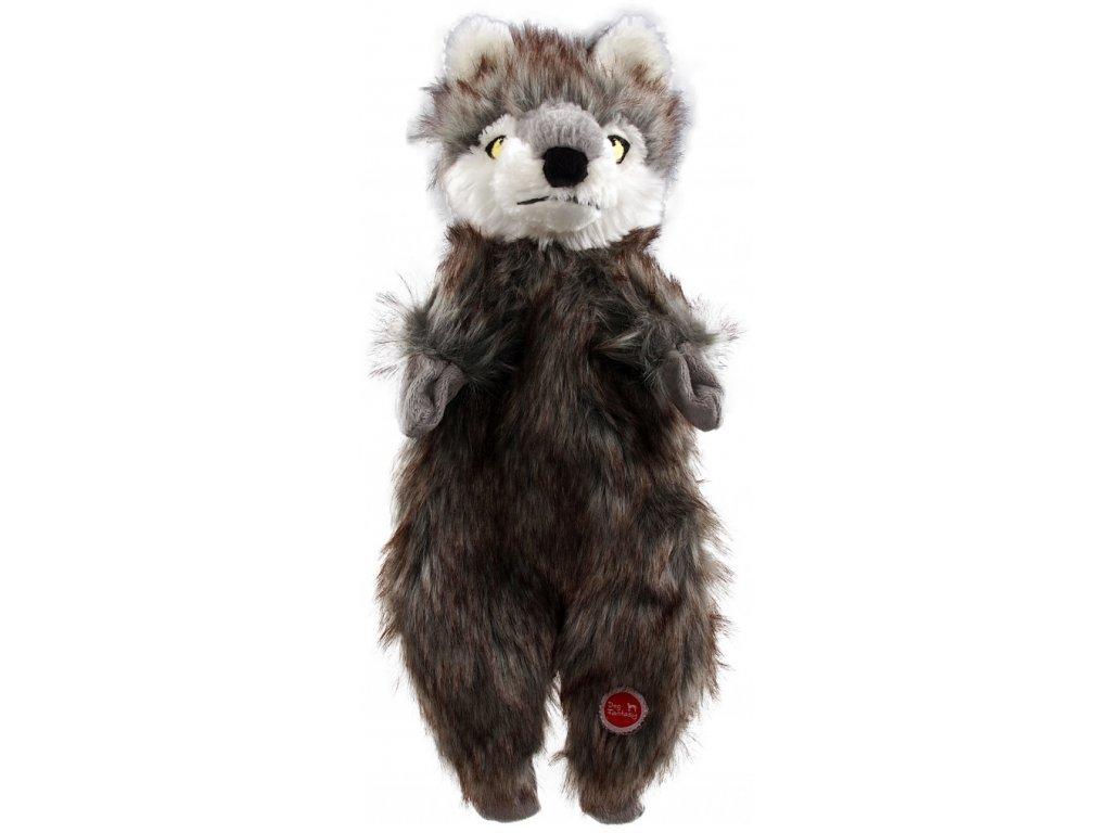 hracka dog fantasy skinneeez vlk plys 34cm default