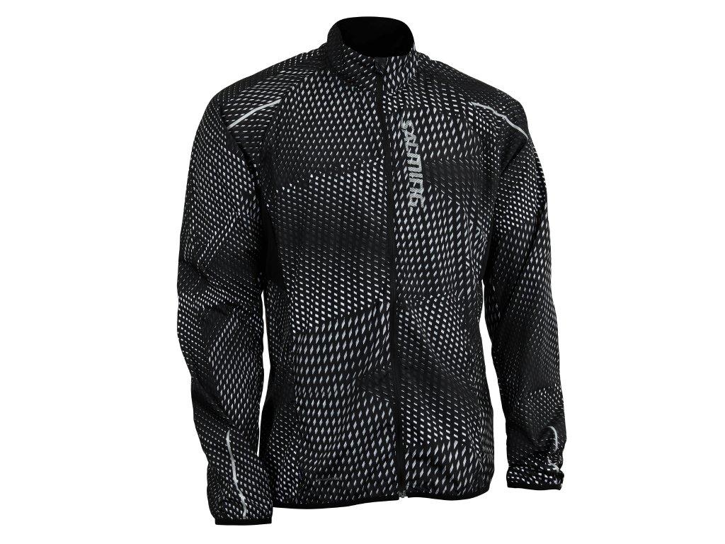 Salming Run Ultralite Jacket 3.0 Men Black All Over Print