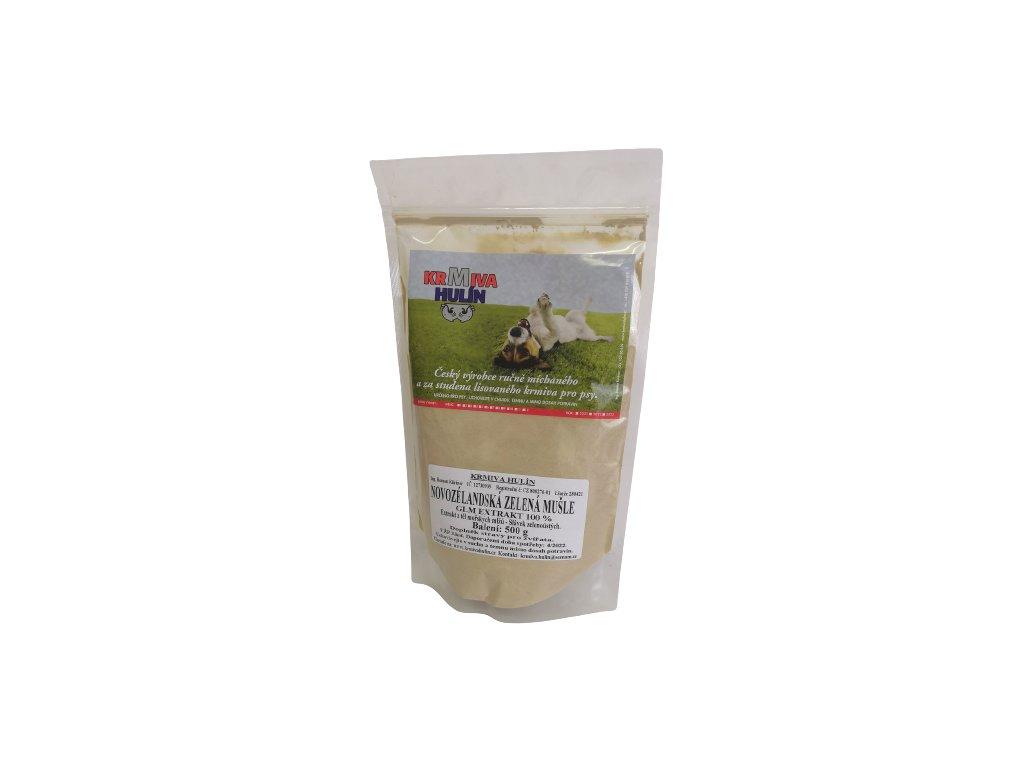 Novozélandská Zelená mušle - GLM extrakt