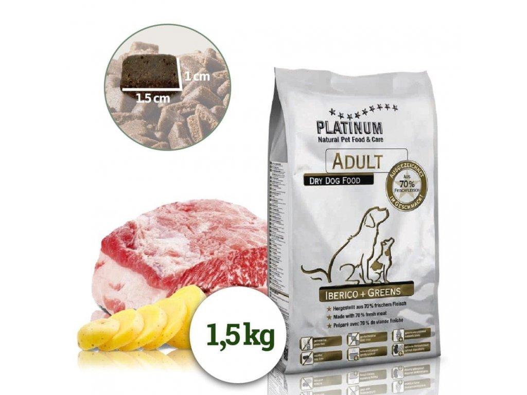 Platinum Natural - Kančí se zeleninou 1,5kg