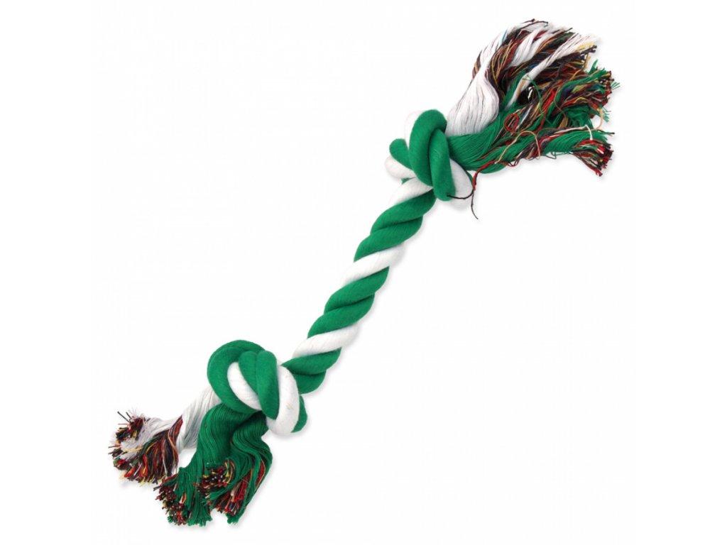 uzel dog fantasy bavlneny zeleno bily 2 knoty 30cm original