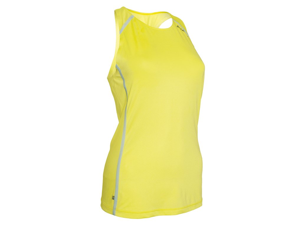 Salming Pitea Singlet Women Safety Yellow