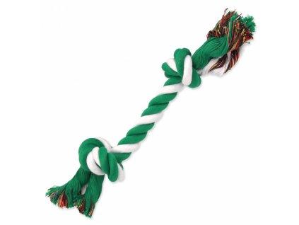 uzel dog fantasy bavlneny zeleno bily 2 knoty 25 cm original