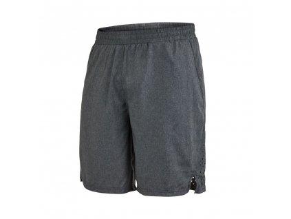 runner shorts men dark grey melange 2
