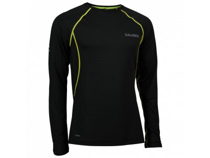 balance ls tee men black