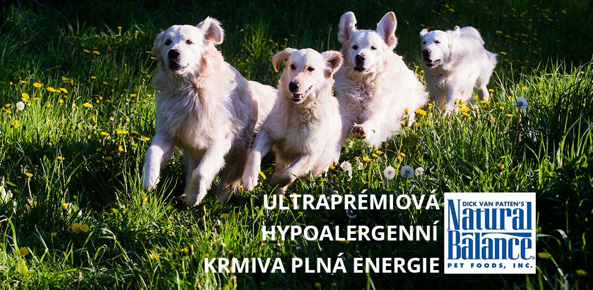 Ultraprémiová a hypoalergenní krmiva Natural Balance