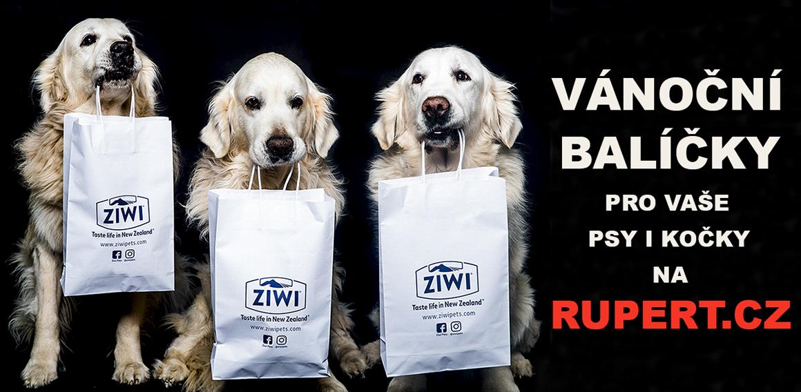 Vánoční balíčky pro Vaše psy i kočky od Rupert.cz