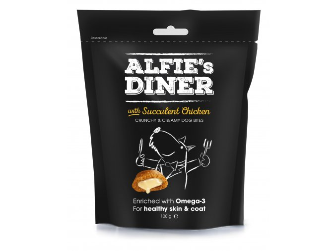 Alfies Diner With Succulent Chicken 100G 7 50826 005658