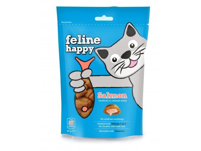 Feline Happy Salmon 60G 7 50826 005641