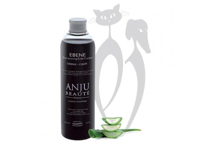 Šampon pro psy a kočky pro černou srst  Anju Beaute EBENE.jpg