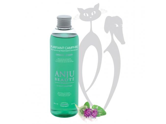 www.rupert.cz_anju_beaute_kosmetika_pro_psy_pro_kočky_ošetřující_šampon_PURIFIANT_CAMPHRE