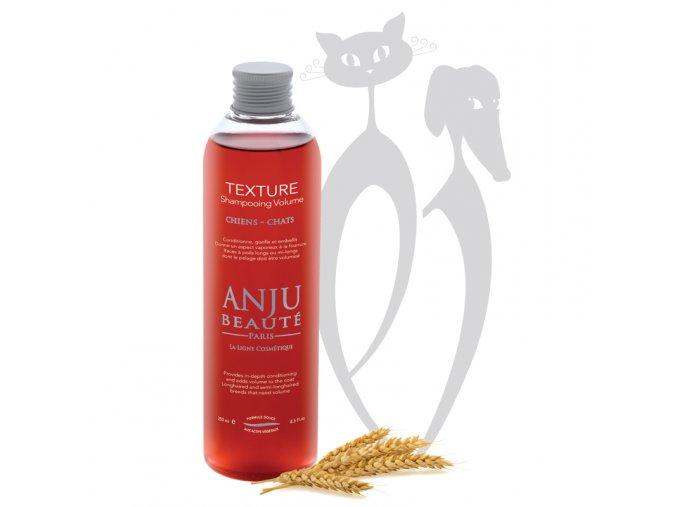 Šampon pro psy a kočky Anju Beaute pro dlouhou srsti TEXTURE.jpg