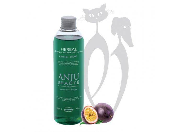 Anju Beauté Herbal Univerzální bylinný šampon pro psy a kočky