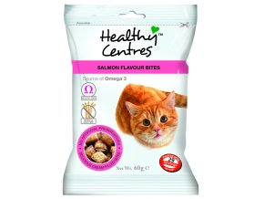 Healthy Centres Salmon Flavour Bites 60G 7 50826 005399