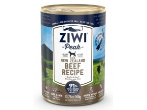 ziwipeak beef canned dog food