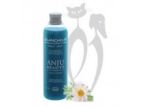 Šampon pro psy a kočky pro bilou srst  Anju Beaute BLANCHEUR.jpg
