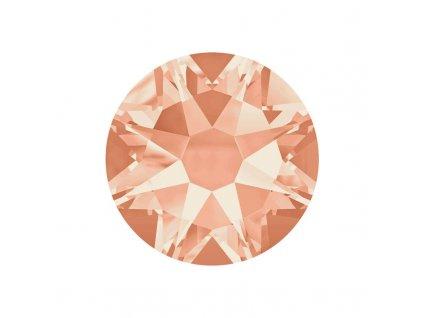 light peach ss16 flatback rhinestones swarovski