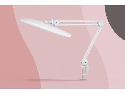 GLAMORA LED LAMP: Bílá