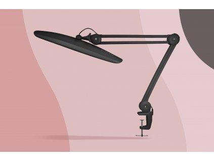 GLAMORA LED LAMP: Černá