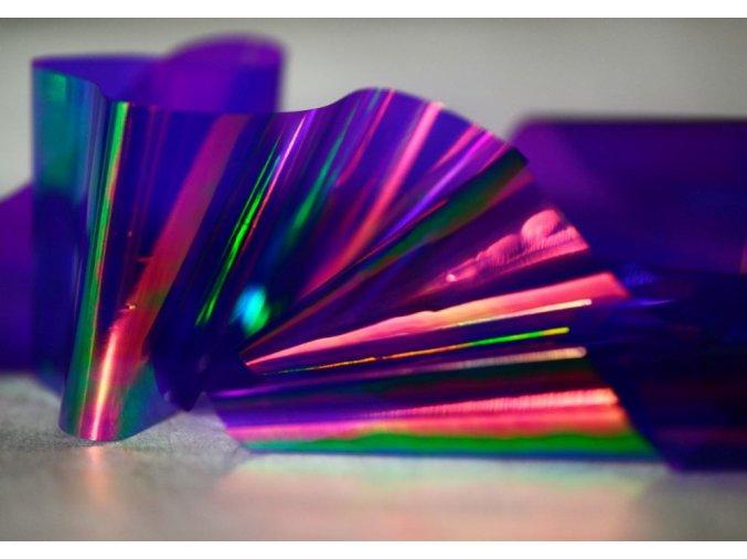 mirror foil dark lila