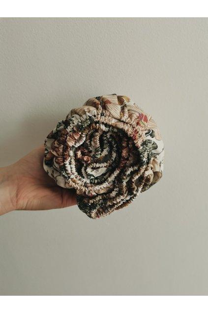 Bavlnená kvetinová plachta