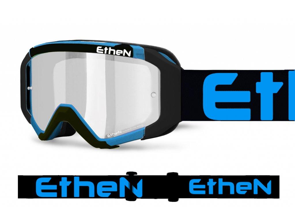 05 PRIMIS 0587 MX okuliare čierno - modré s čírím sklom