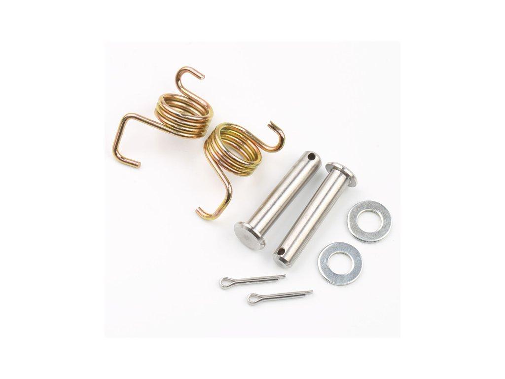 DRC Opravná sada stupačiek - kolík a pružinka 2ks CRM250R/AR'91-98,KLX250'93-
