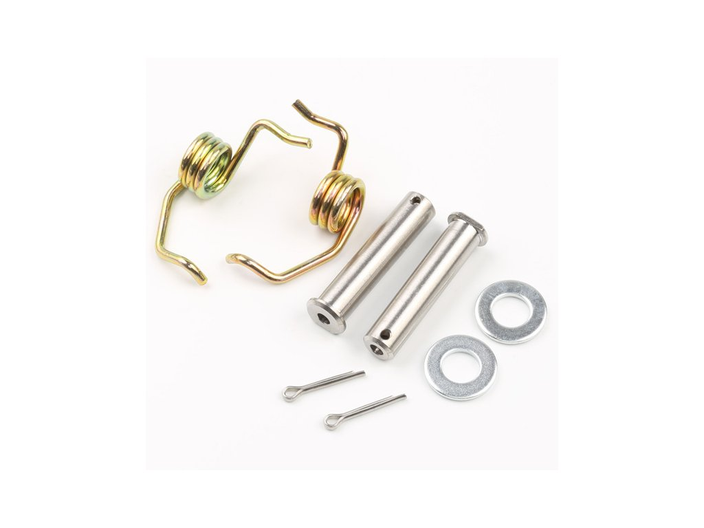 DRC Opravná sada stupačiek - kolík a pružinka 2ks KX125/250,KDX220R/250R/250SR