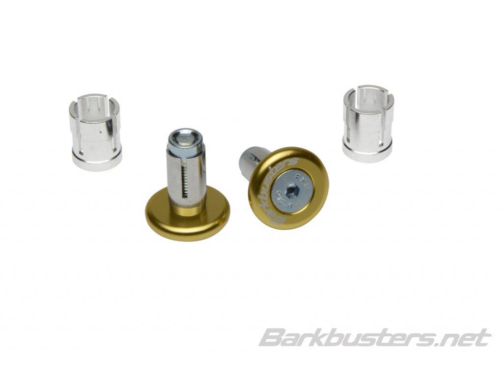 Barkbusters  koncovky riadidiel eloxované - zlaté