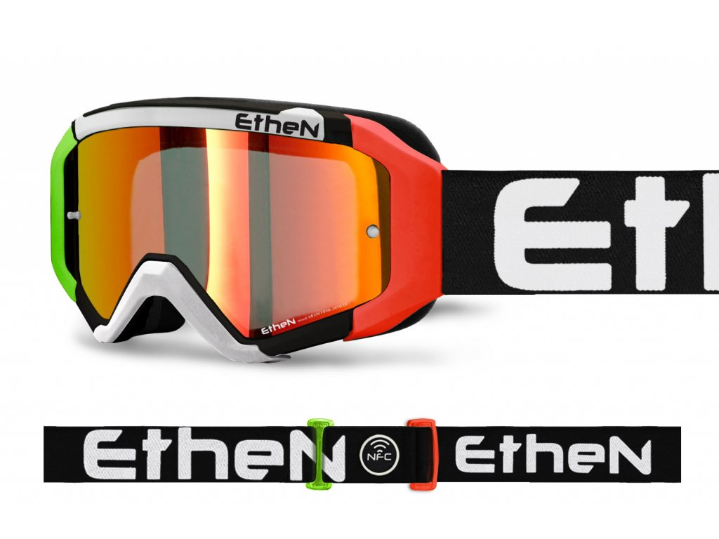 MX05R 0566 MX okuliare ITALIA s červeným zrkadlovým sklom