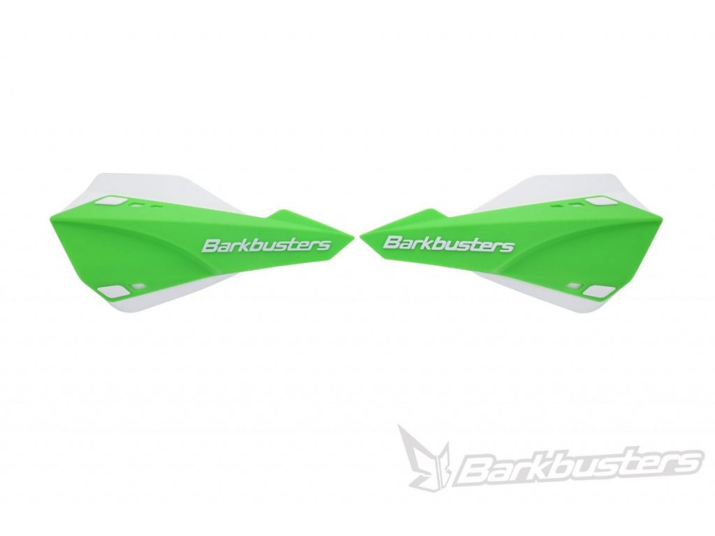 SABRE plastové kryty rúk SET zeleno-biele