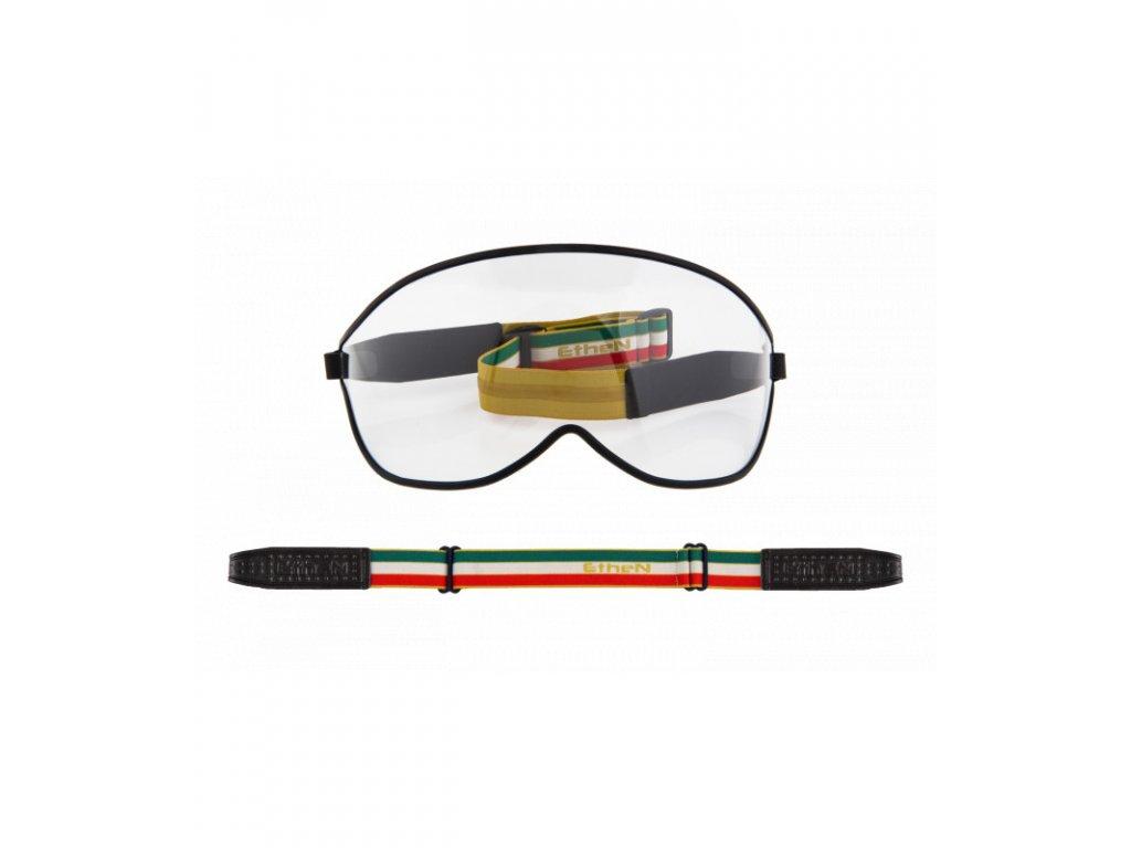Visor motocyklové okuliare s priehľadným sklom VISOR01