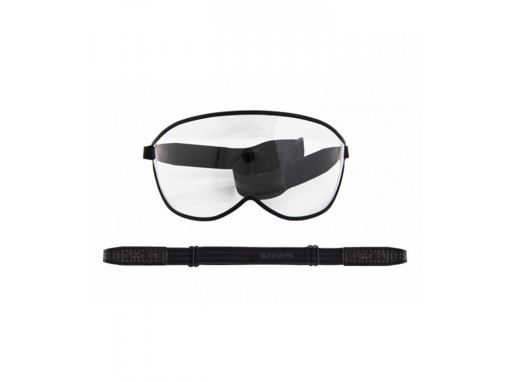 Visor motocyklové okuliare s priehľadným sklom VISOR02