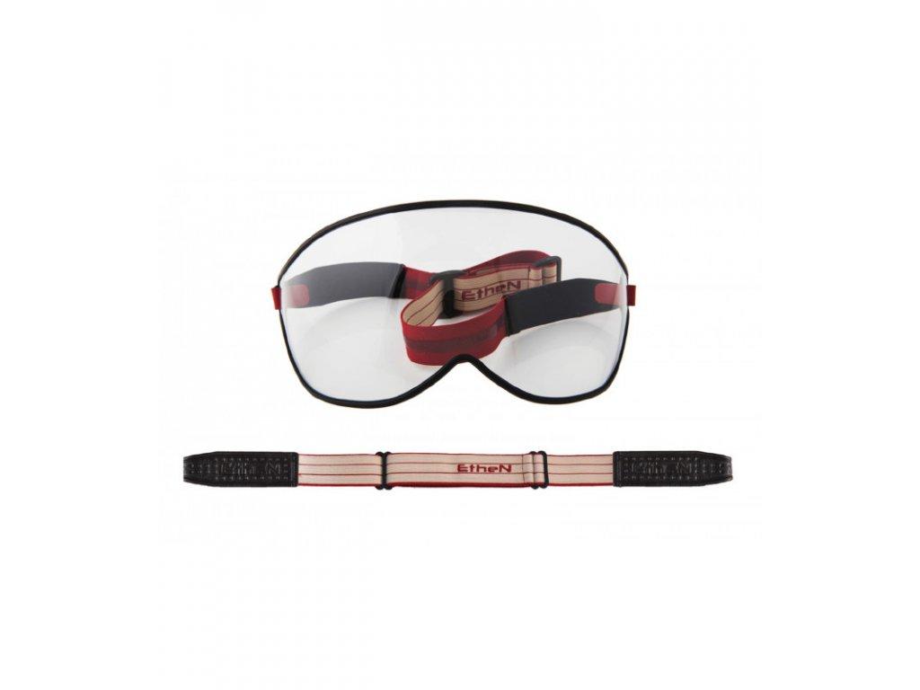 Visor motocyklové okuliare s priehľadným sklom VISOR04