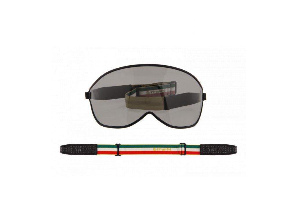 Visor motocyklové okuliare s tmavým sklom VISOR05