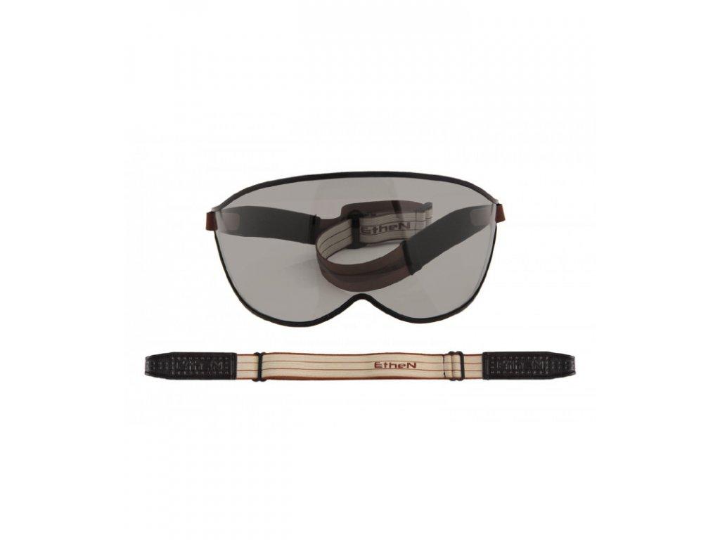 Visor motocyklové okuliare s tmavým sklom VISOR07