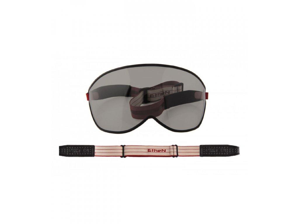 Visor motocyklové okuliare s tmavým sklom VISOR08