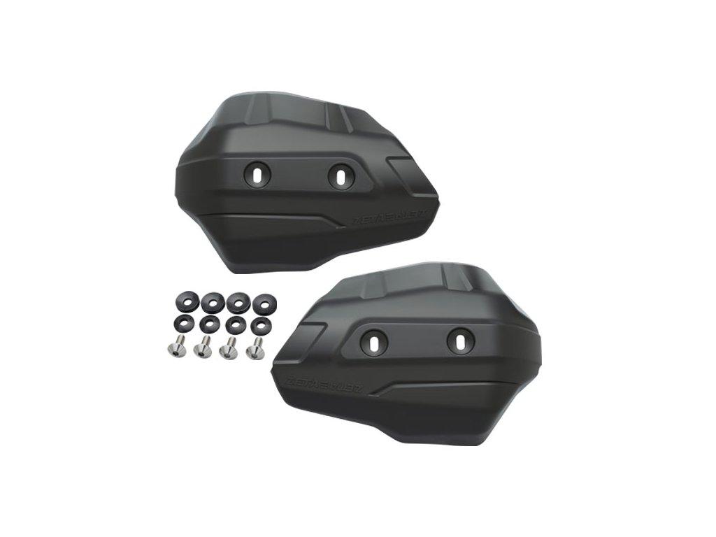 ZETA ADV Armor - kryty rúk Scudo čierne 2ks