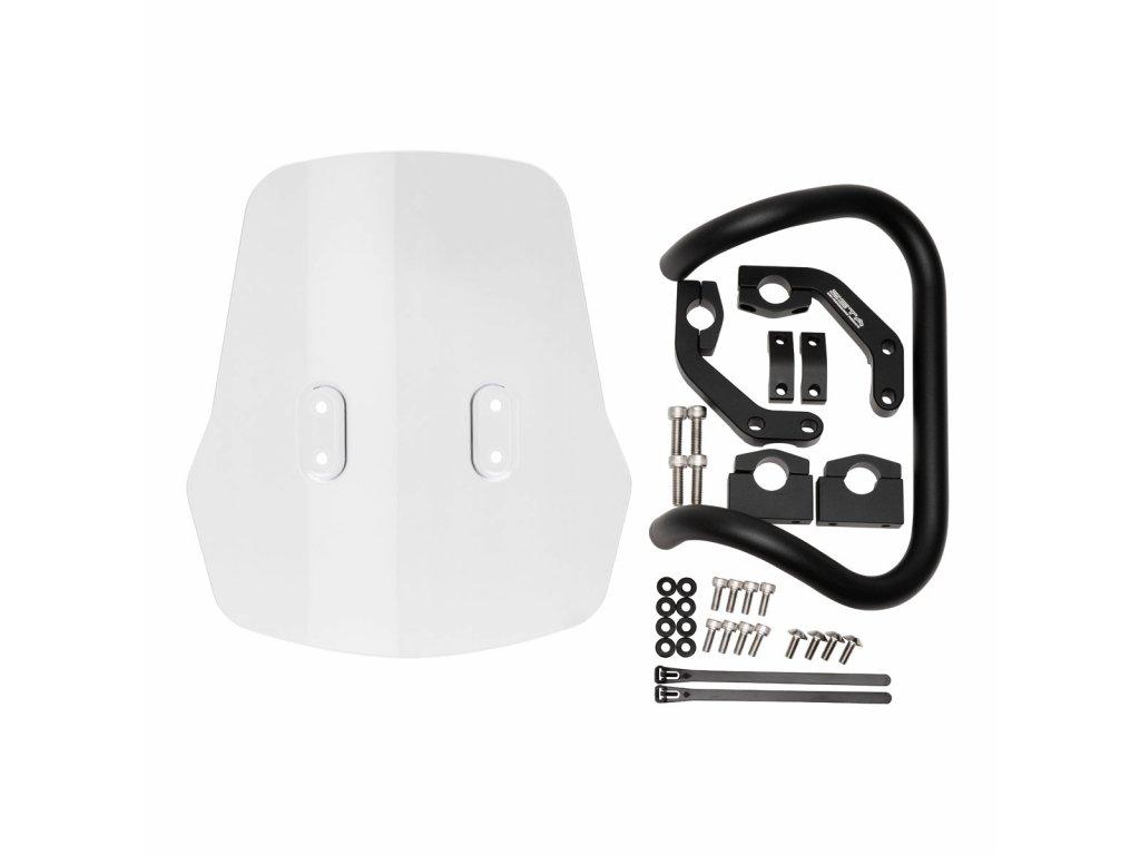 ZETA ADV ochranné plexi kit KLX230 '20-