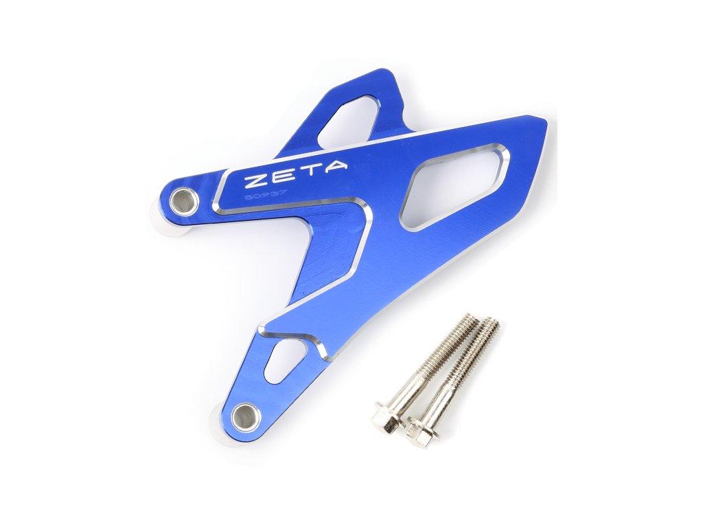 ZETA ALU kryt reťazového kolečka YZ250F/450F '14- modrý