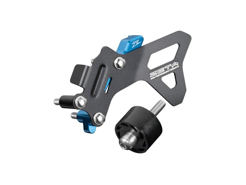 ZETA ALU kryt reťazového kolečka CaseCover Kit HQV. FC450'16-,FC/FX450/501'17- H-modrý