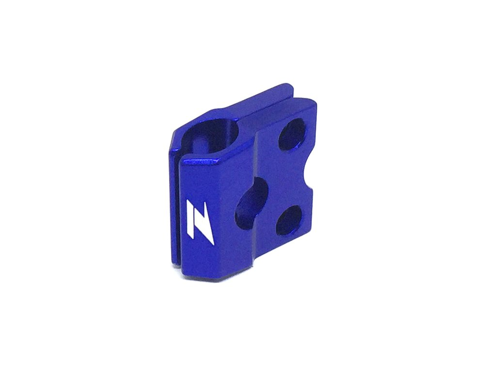 ZETA ALU objímka prednej brzdovej hadice XR/CRF150 Modrá