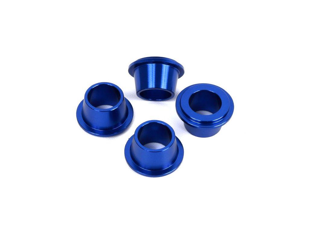 ZETA ALU púzdra držiaku riadidiel modré 4ks KTM/HQV.