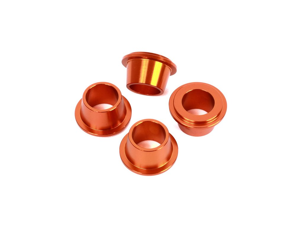 ZETA ALU púzdra držiaku riadidiel oranžové 4ks KTM/HQV.
